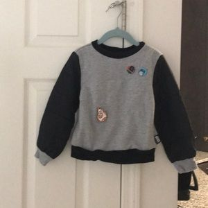 Star Wars Disney kids sweatshirt size XS